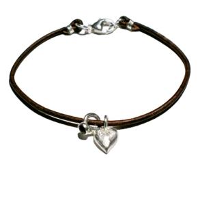 Heart and Mini-RingBracelet