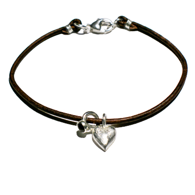 bracelet heart mini ring