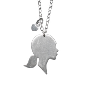 Sterling Silver Silhouettes Necklace