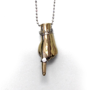 Pointing Hand Pendant