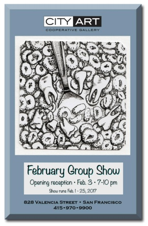 City Art Reception February 3rd-First Friday Opening!