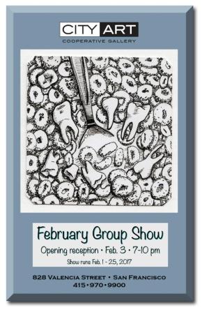 City Art Reception February 3rd-First FridayOpening!