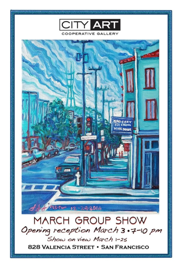 City Art Postcard March