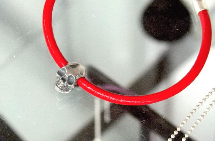 City Art Skull Bracelet