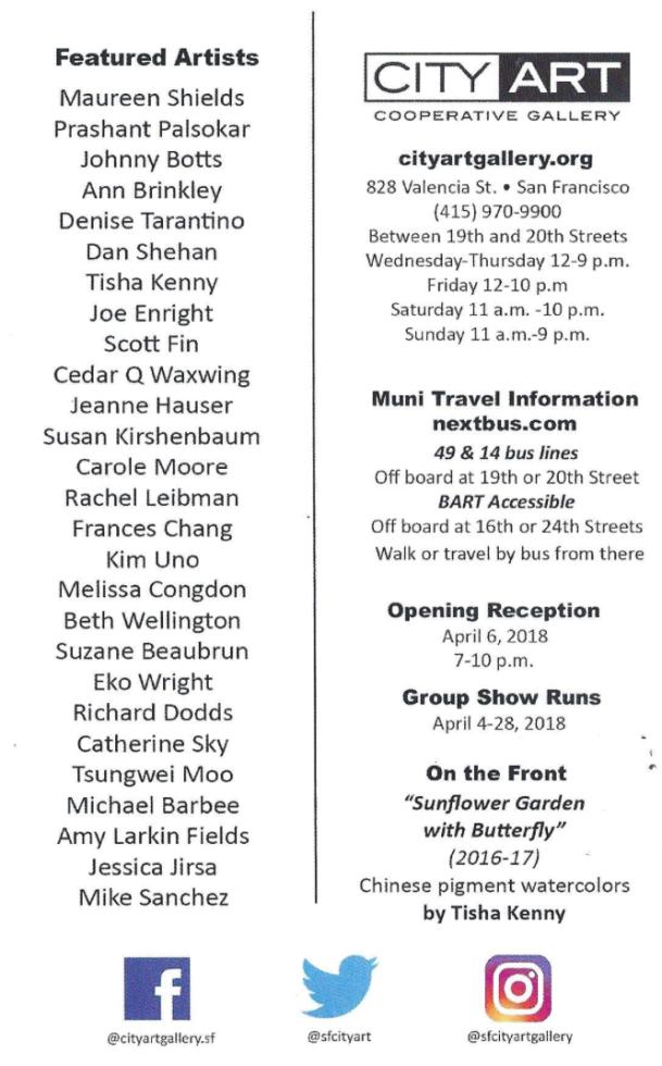 City Art April Reception