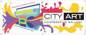 City Art 20th Anniversary Party this Friday!